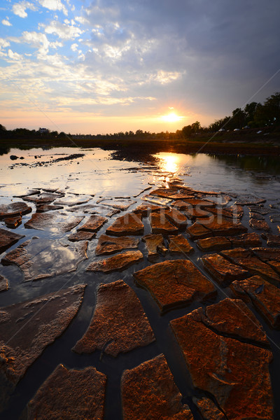 Foto stock: Secar · terra · solo · textura · terreno · fundo