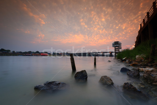 Moom river Stock photo © lukchai