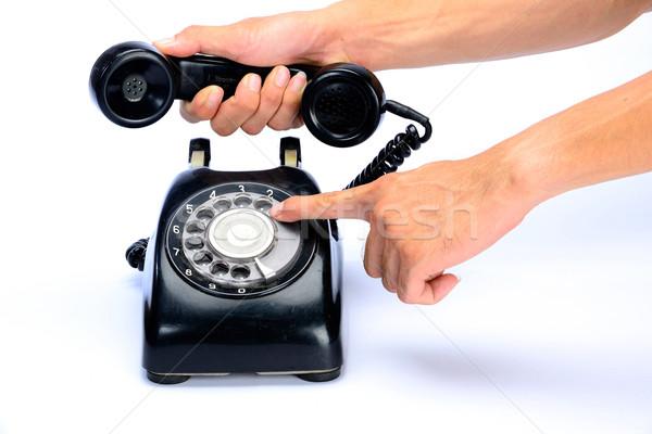 Telephone Stock photo © lukchai
