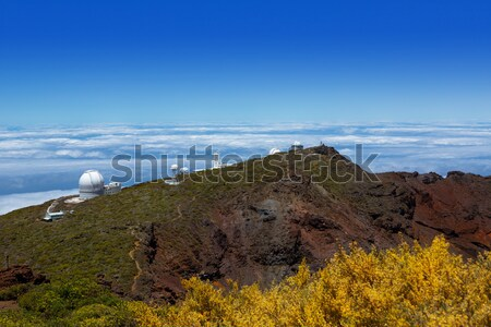 La Palma Roque de Muchachos ORM observatory Stock photo © lunamarina