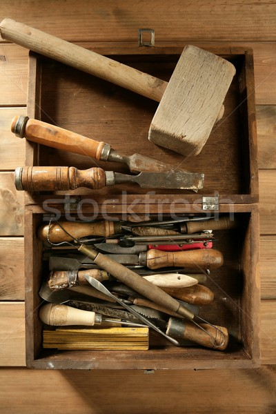 srtist hand tools for handcraft works  Stock photo © lunamarina