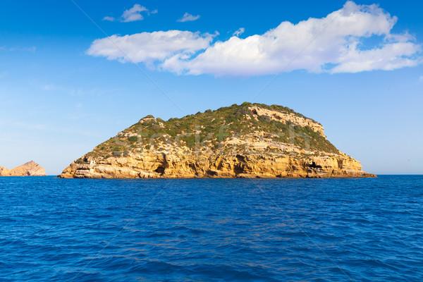 Javea Portichol Xabia Portixol island in Alicante Spain Stock photo © lunamarina
