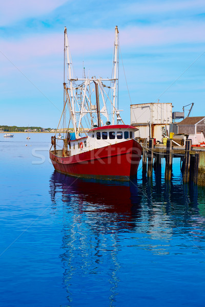 Cape cod port Massachusetts USA plage eau Photo stock © lunamarina