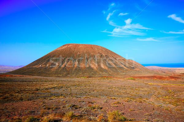 Tindaya area in Fuerteventura at Canary Islands Stock photo © lunamarina