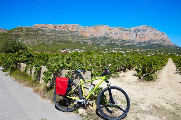 Montanha verão oceano bicicleta viajar Foto stock © lunamarina