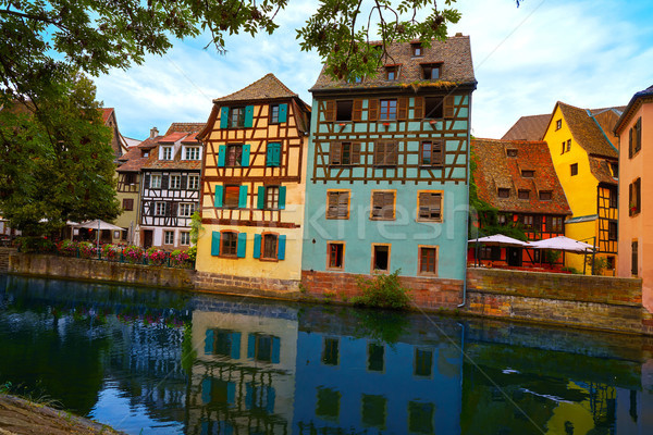 Strasbourg la Petite France in Alsace Stock photo © lunamarina
