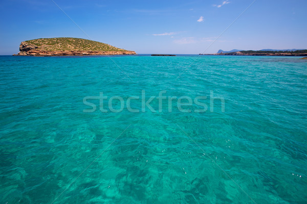 Comte Conta Cala in Sant Josep of Ibiza at balearic Stock photo © lunamarina