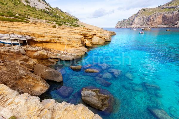 Praia mallorca ilha Espanha paisagem montanha Foto stock © lunamarina