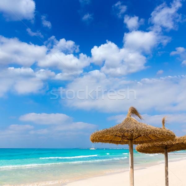 Plaj İspanya manzara deniz Stok fotoğraf © lunamarina