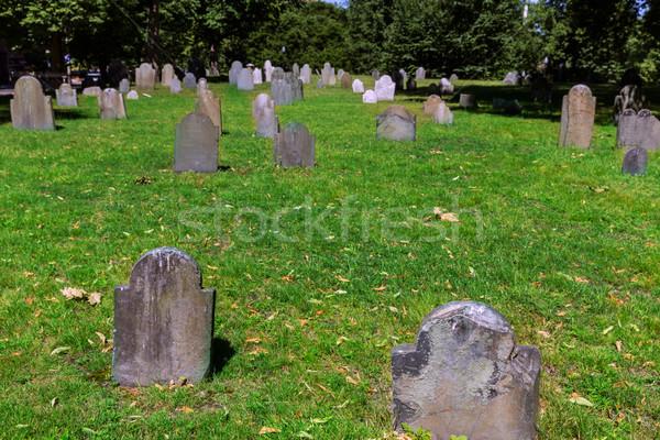 Boston Common Central Burying Ground Stock photo © lunamarina