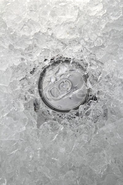 drink can iced submerged in frost ice closeup Stock photo © lunamarina