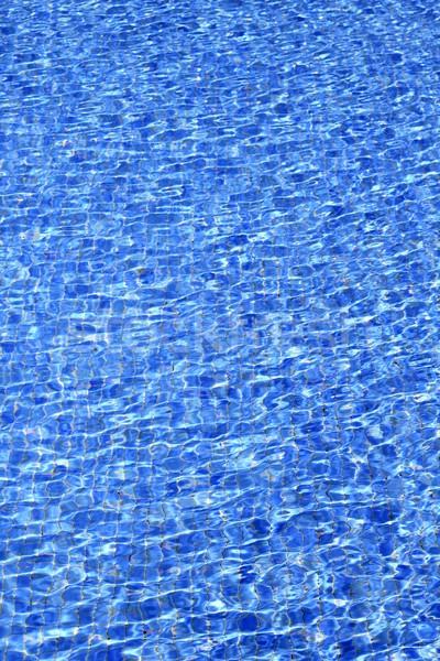 Piscina azul agua textura patrón de onda verano Foto stock © lunamarina