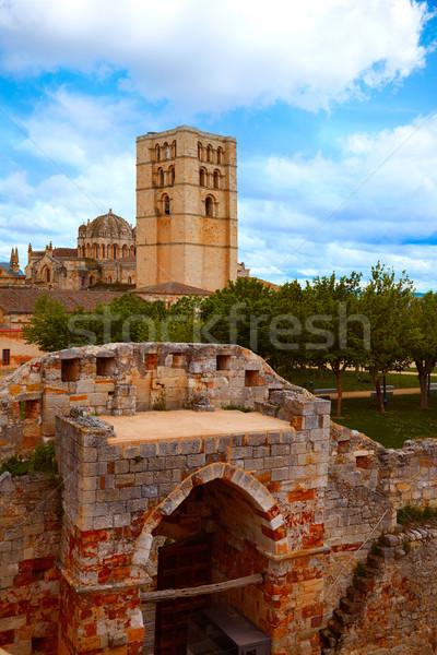 Castillo España manera ciudad arquitectura Foto stock © lunamarina
