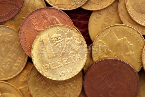 Antiguos real edad España república moneda Foto stock © lunamarina