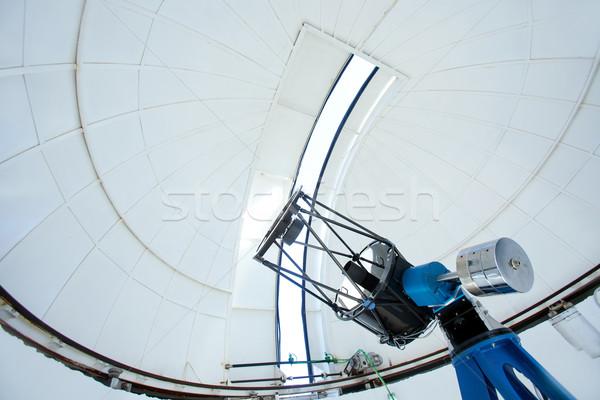 Astronomic observatory telescope in a dome Stock photo © lunamarina