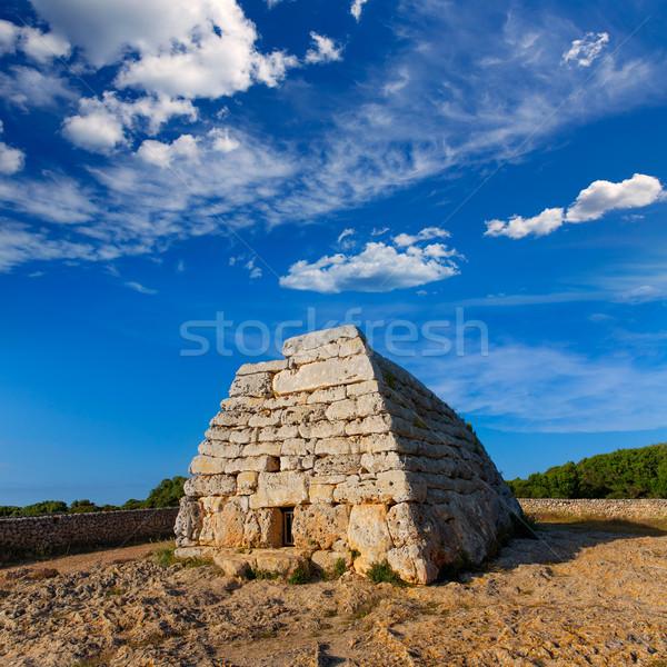 могилы здании стены лет синий путешествия Сток-фото © lunamarina