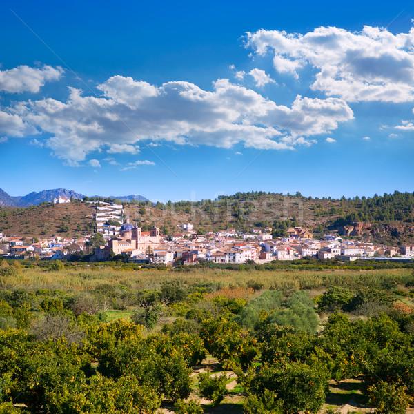 Sot de Ferrer village in Valencia Spain Stock photo © lunamarina