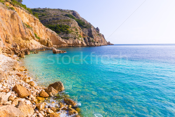 Tango praia Espanha mediterrânico mar oceano Foto stock © lunamarina