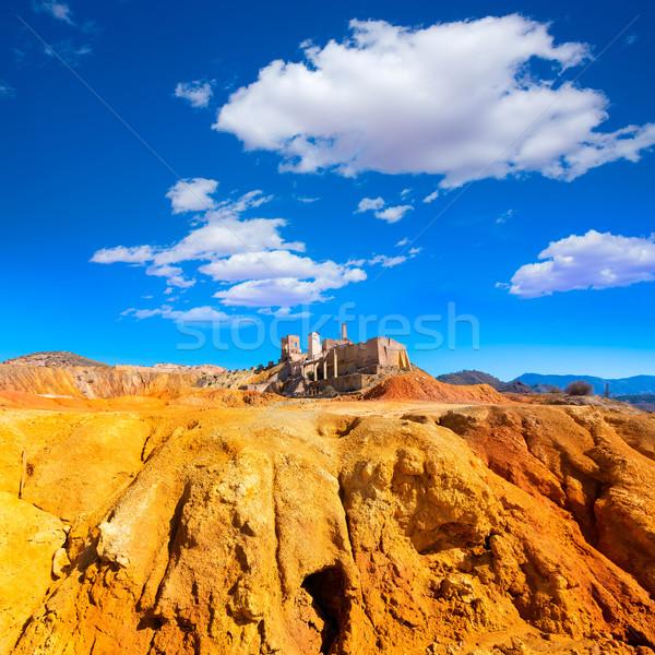Mazarron Murcia old mine in Spain Stock photo © lunamarina