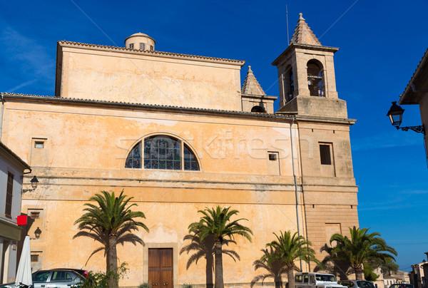 Majorca Alqueria Blanca Felanitx church Mallorca Stock photo © lunamarina