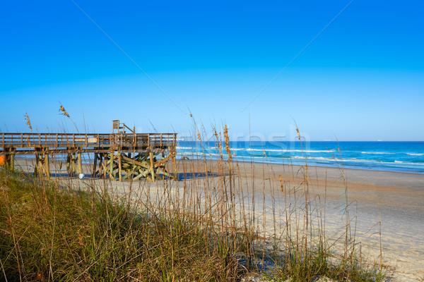 Atlantic Beach in Jacksonville of florida USA Stock photo © lunamarina