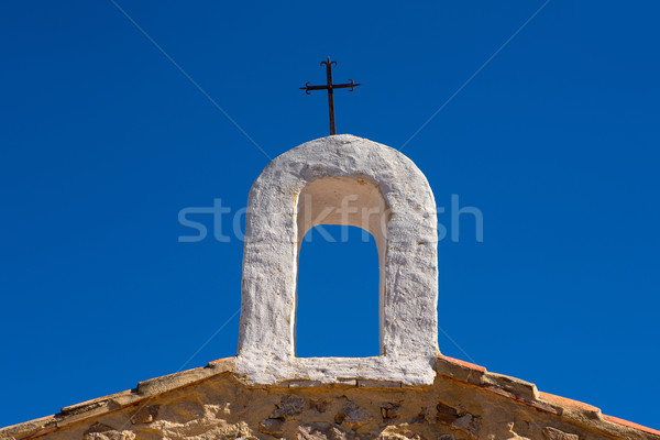 Foto d'archivio: Christian · cross · arch · frazione · chiesa · casa