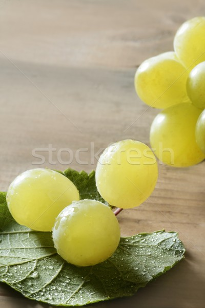 Stockfoto: Mooie · groene · Geel · grapefruit · macro · detail