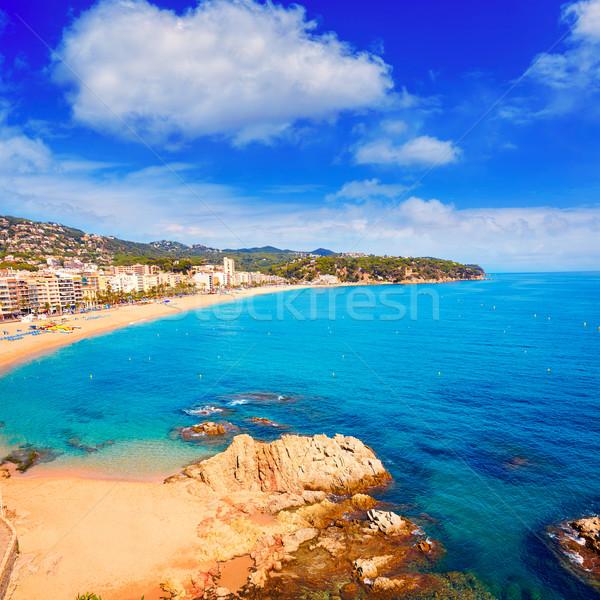 Costa Brava beach Lloret de Mar Catalonia Spain Stock photo © lunamarina