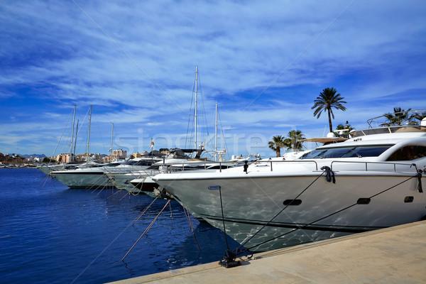 Portu marina morze Śródziemne Hiszpania morza plaży Zdjęcia stock © lunamarina