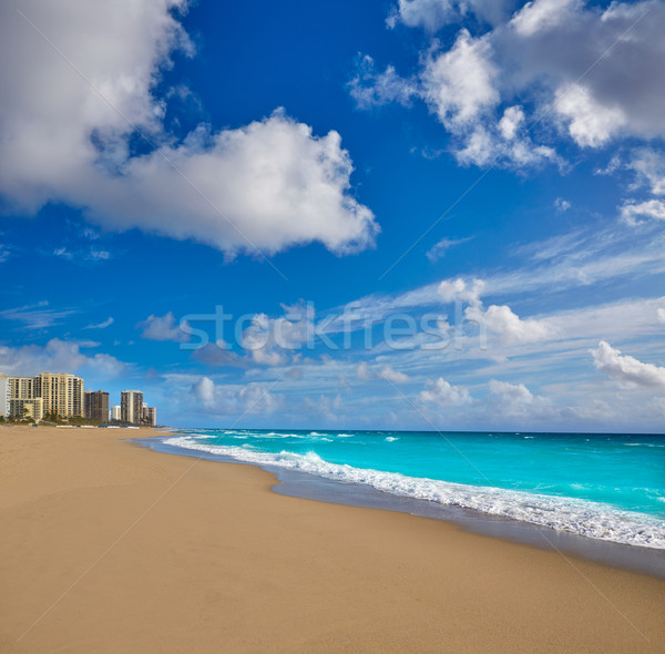 Stock photo: Singer Island beach at Palm Beach Florida US