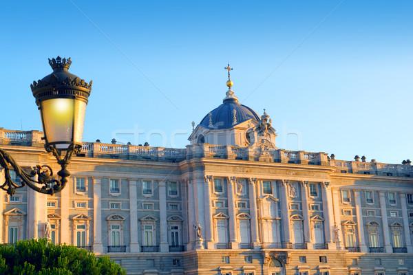 Madrid Palacio de Oriente monument Stock photo © lunamarina