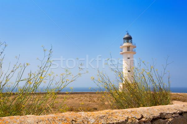 La Savina Sabina lighthouse in formentera Stock photo © lunamarina