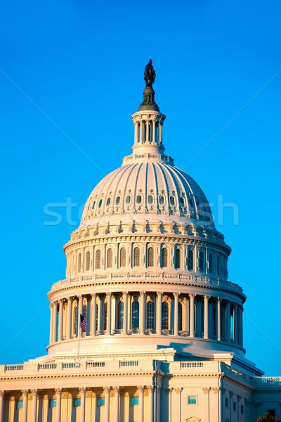 здании купол Вашингтон конгресс США дома Сток-фото © lunamarina