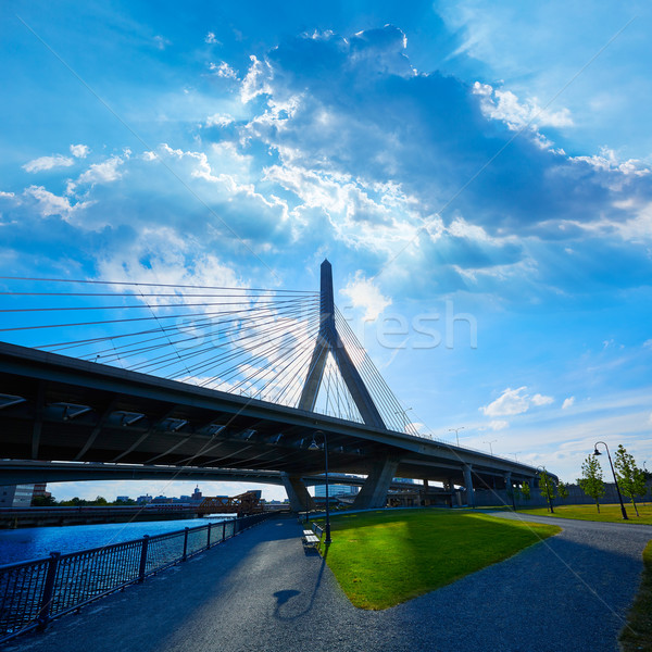 Boston ponte Hill Massachusetts USA cielo Foto d'archivio © lunamarina