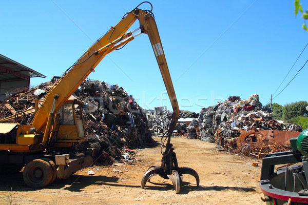 scrap metal scrap-iron junk Stock photo © lunamarina