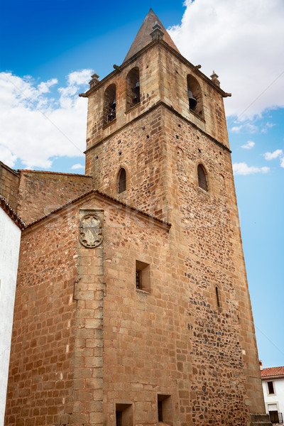 Kerk Santiago Spanje la gebouw stad Stockfoto © lunamarina