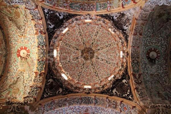 барокко купол потолок подробность собора Церкви Сток-фото © lunamarina