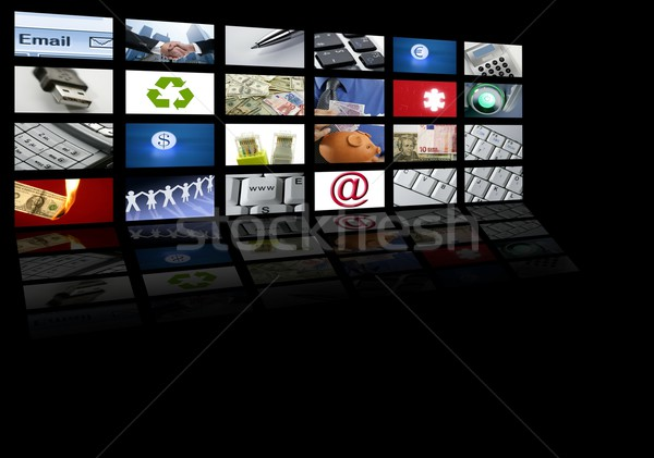 Foto stock: Vídeo · tv · Screen · tecnología · comunicaciones · comunicación