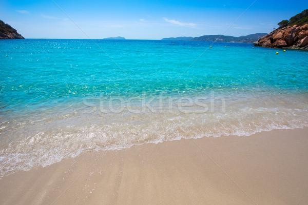 Ibiza cala San vicente beach san Juan at Balearic Islands  Stock photo © lunamarina
