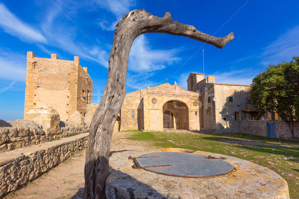 Majorca Puig de Maria PollencaSanctuary Mallorca Stock photo © lunamarina