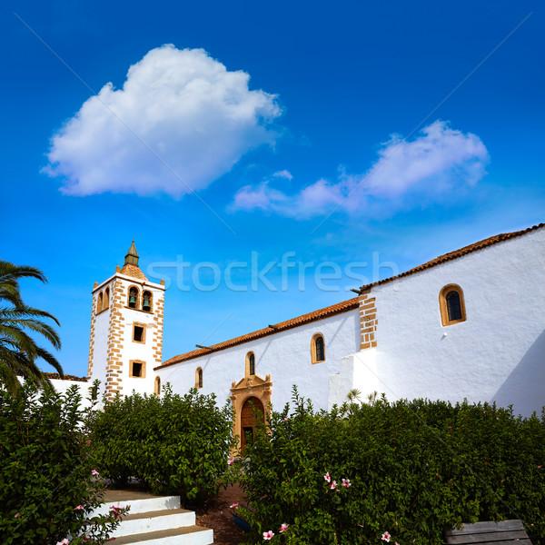 Betancuria Santa Maria church Fuerteventura Stock photo © lunamarina