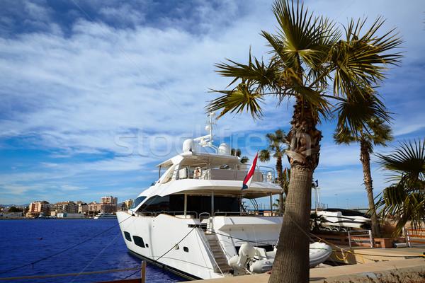 порта марина Средиземное море Испания морем пляж Сток-фото © lunamarina