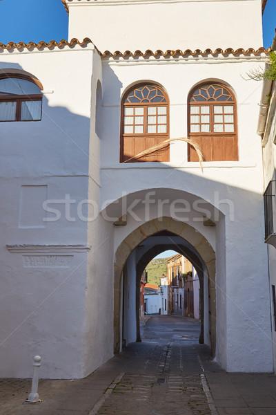 Arch Spagna la strada blu religione Foto d'archivio © lunamarina