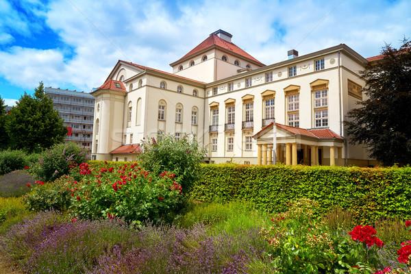 театра саду Германия небе цветы город Сток-фото © lunamarina