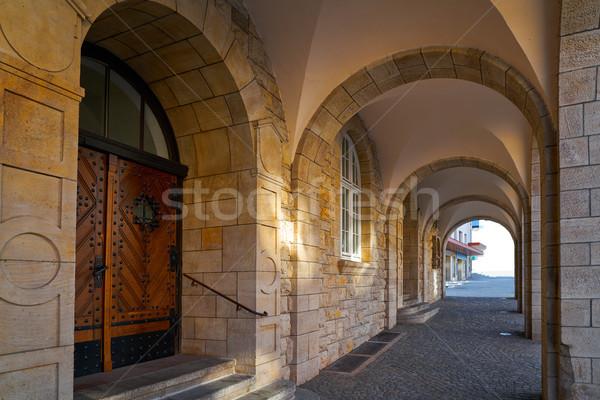 Germania primavera città estate viaggio edifici Foto d'archivio © lunamarina