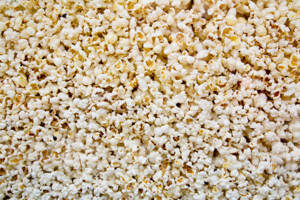 Corn popcorn texture view from glass Stock photo © lunamarina