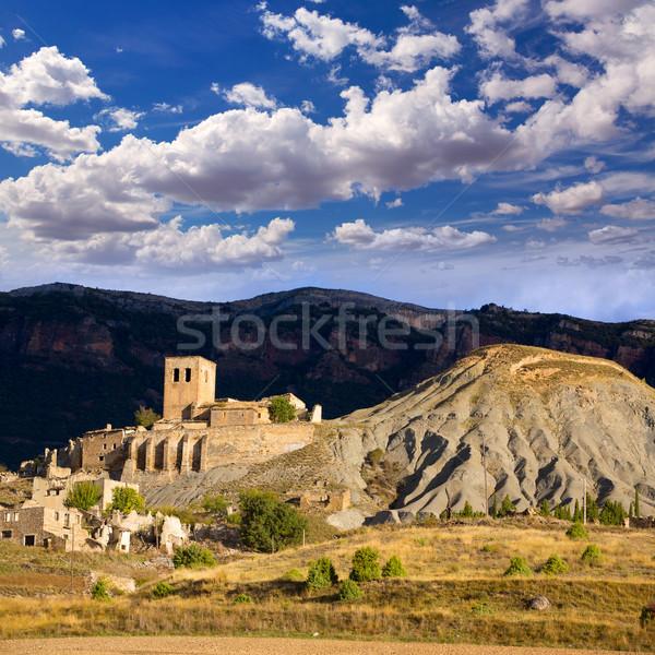 Esco in Huesca Aragon Pyrenees of Spain Stock photo © lunamarina