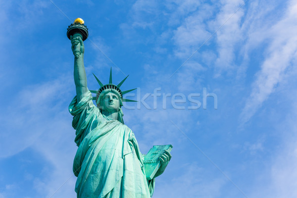 Heykel özgürlük New York amerikan simge ABD Stok fotoğraf © lunamarina