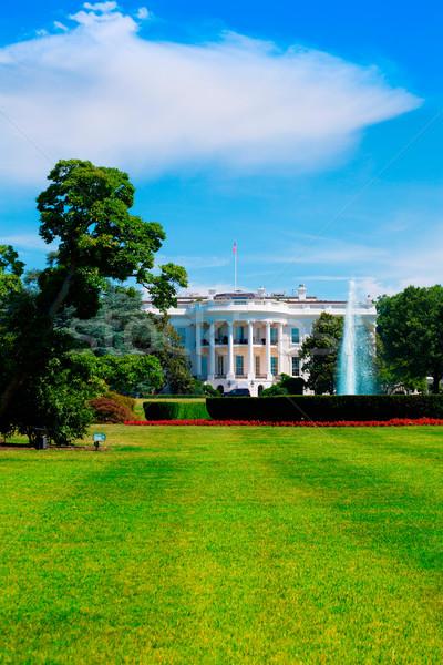 Casa blanca Washington DC EUA Estados Unidos casa edificio Foto stock © lunamarina