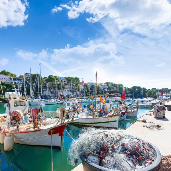 Majorca Porto Cristo marina port Manacor Mallorca Stock photo © lunamarina